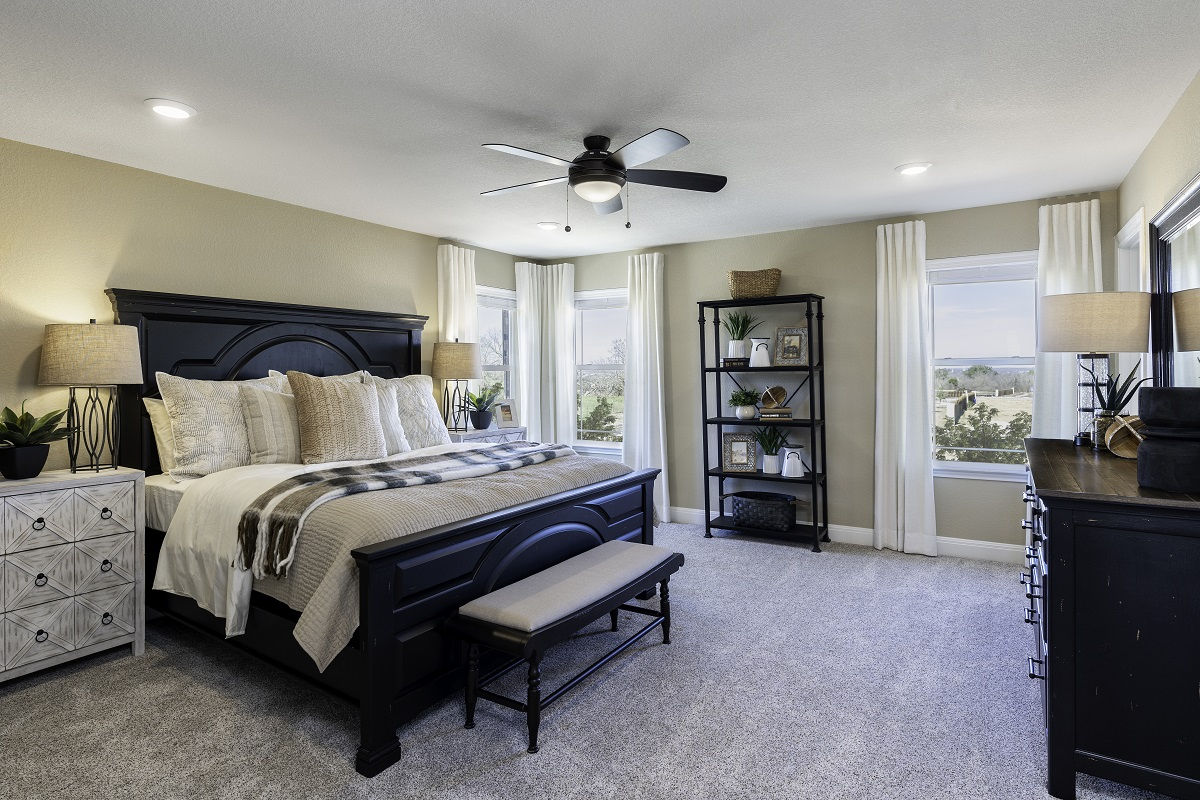 New Homes in Georgetown, TX - La Conterra - Heritage Collection Plan 2411 Master Bedroom