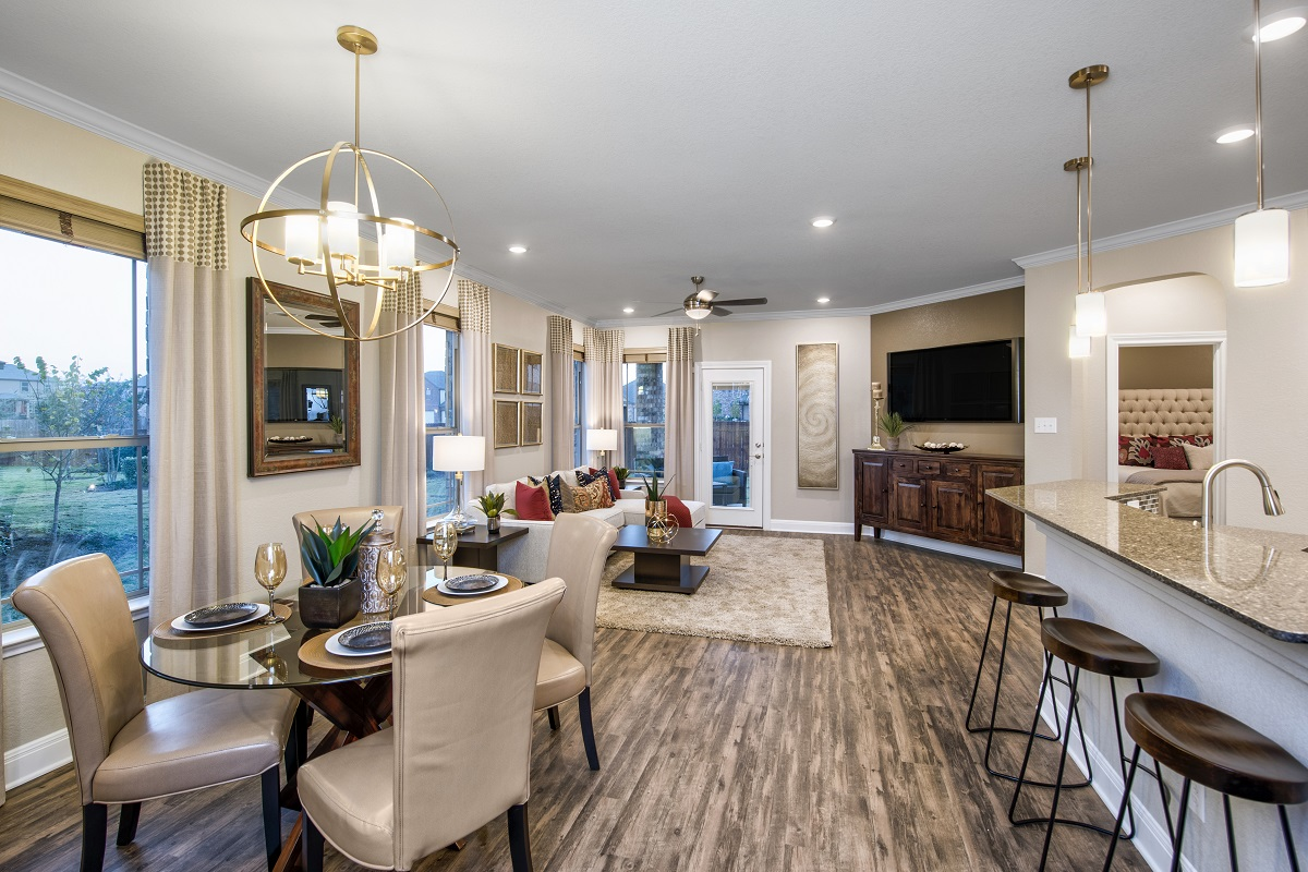New Homes in Georgetown, TX - La Conterra - Heritage Collection Plan E-1694 Great Room