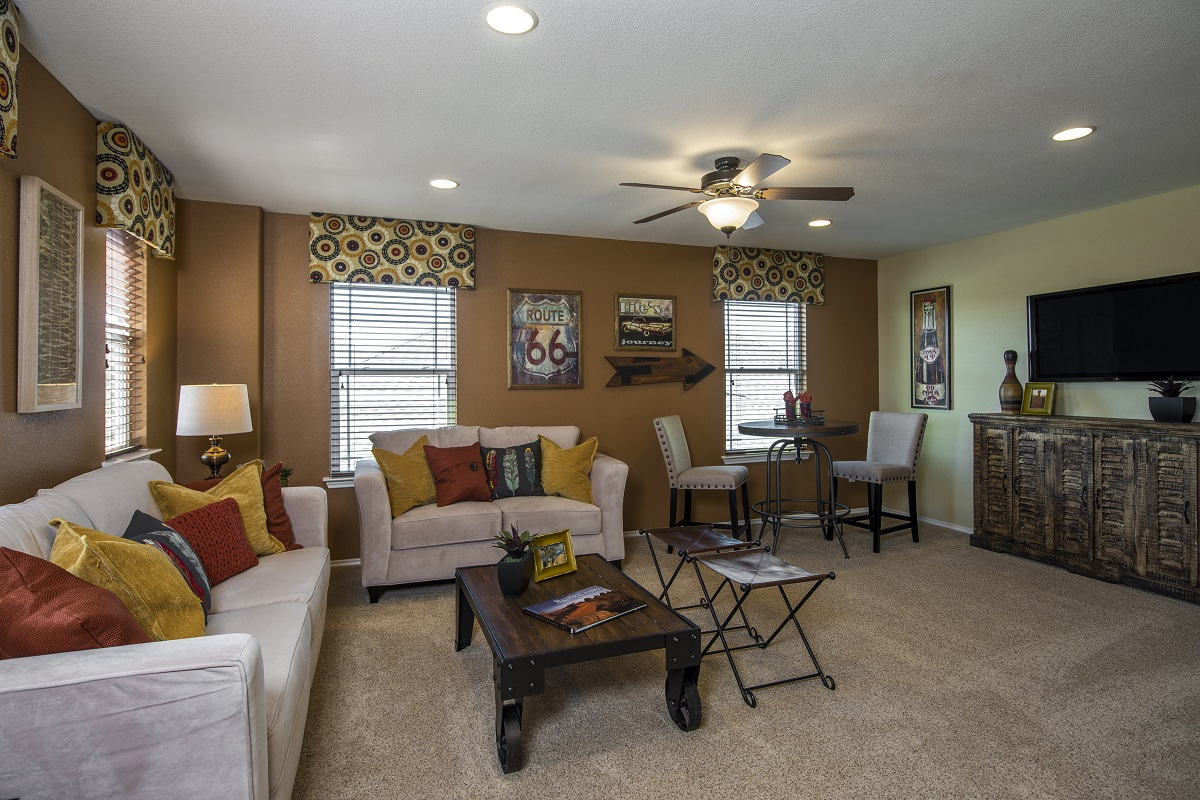 New Homes in Georgetown, TX - La Conterra - Classic Collection The A-2502 Game Room