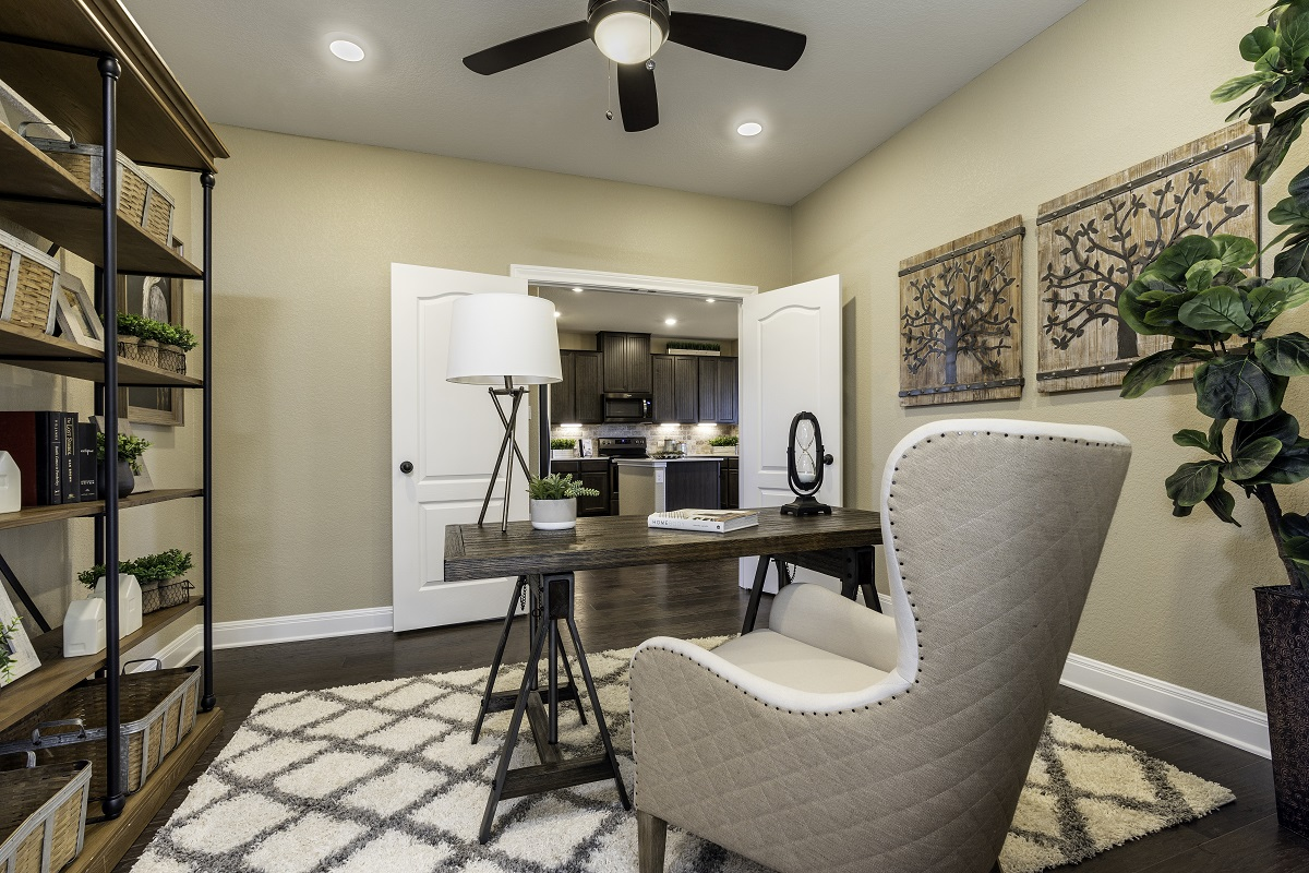 New Homes in Georgetown, TX - La Conterra - Heritage Collection Plan 2411 Study