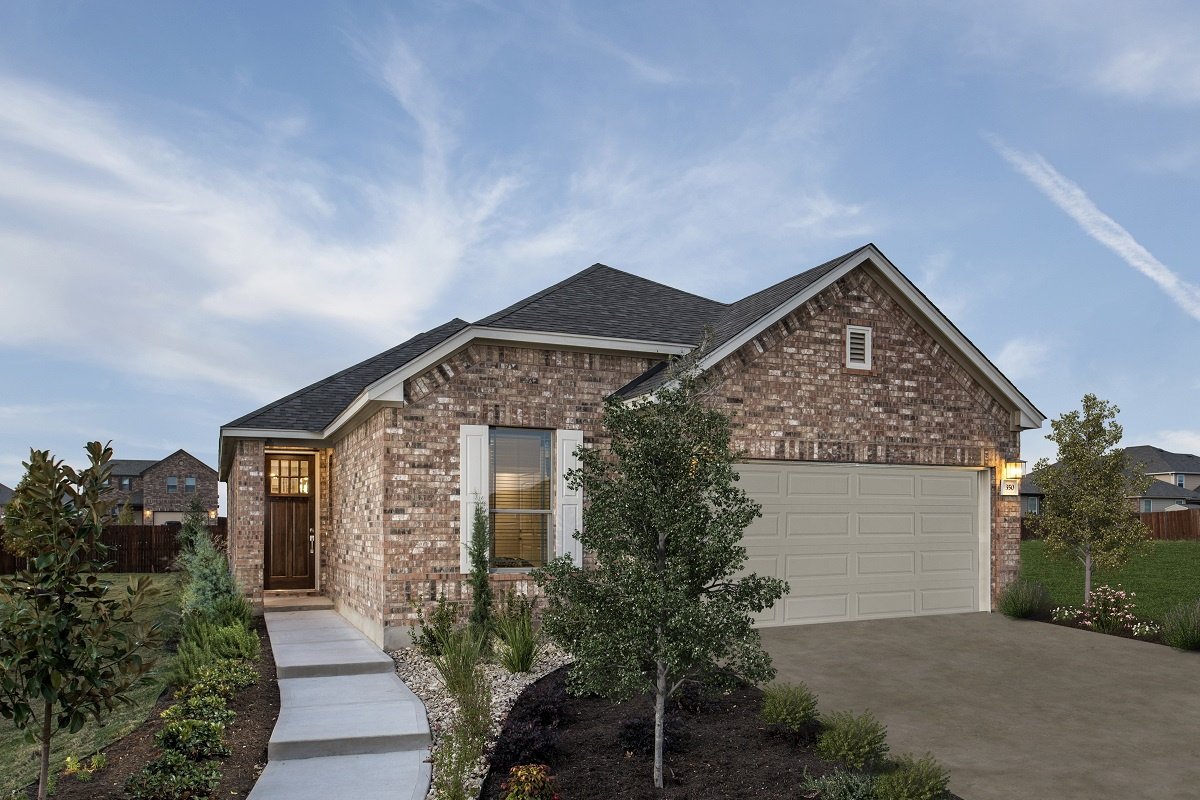 New Homes in Georgetown, TX - La Conterra - Heritage Collection Plan 1694