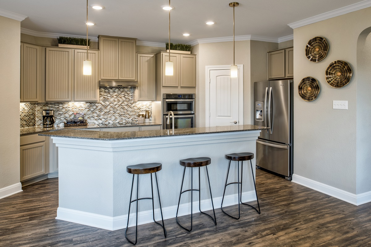 New Homes in Georgetown, TX - La Conterra - Heritage Collection Plan 1694 Kitchen