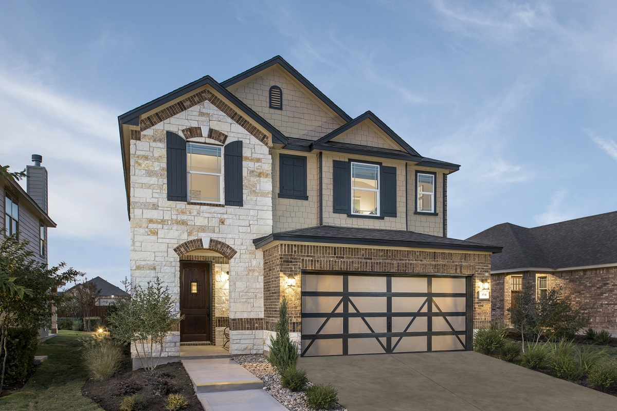 New Homes in Georgetown, TX - La Conterra - Heritage Collection Plan 2038