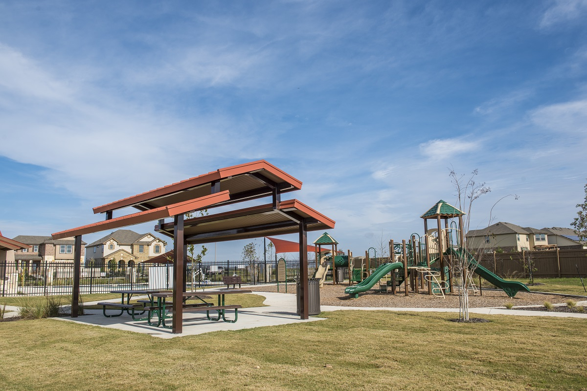 New Homes in Georgetown, TX - La Conterra - Heritage Collection Community Park
