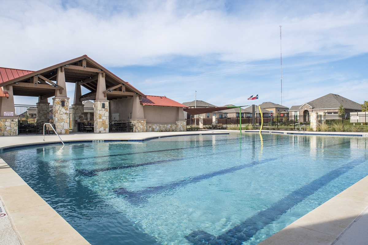 New Homes in Georgetown, TX - La Conterra - Heritage Collection Community Pool