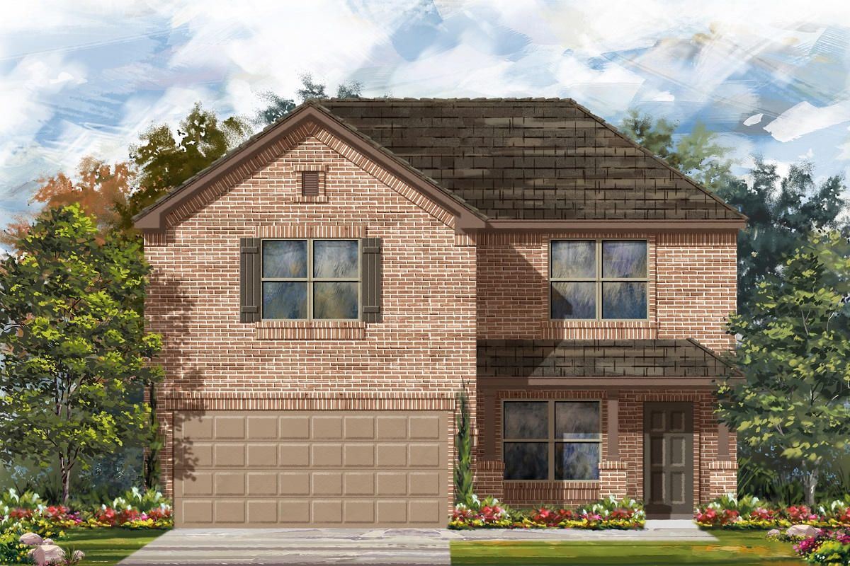 New Homes in Georgetown, TX - Plan E-2177 I