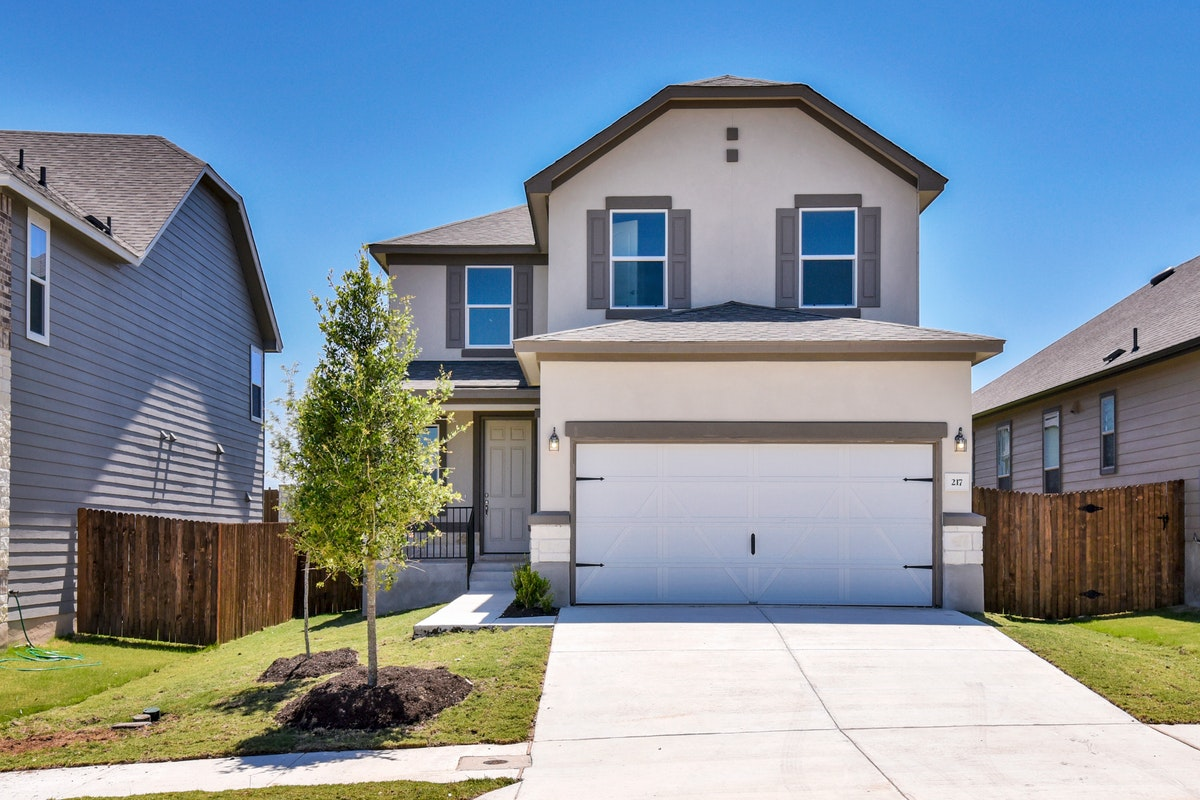 New KB quick-move-in homes available at La Conterra - Heritage Collection in Georgetown, TX.  is one of many quick-move-in homes to choose from.