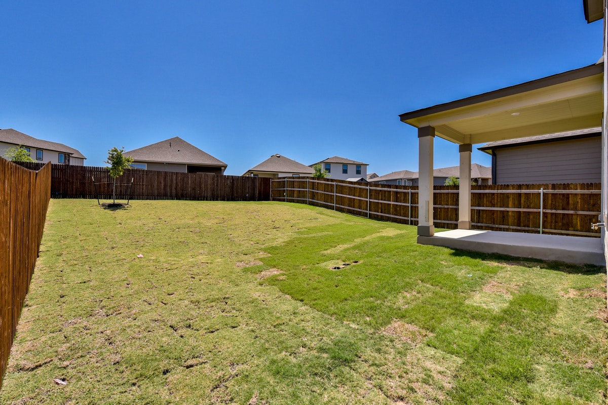 Homesite 3/D-1 Back Yard