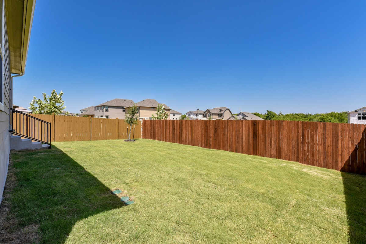 Homesite 27/H-2 Back Yard