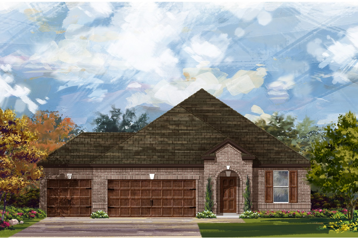 New Homes in Leander, TX - Mason Hills - The Lakes Hallmark Collection Plan A-2089
