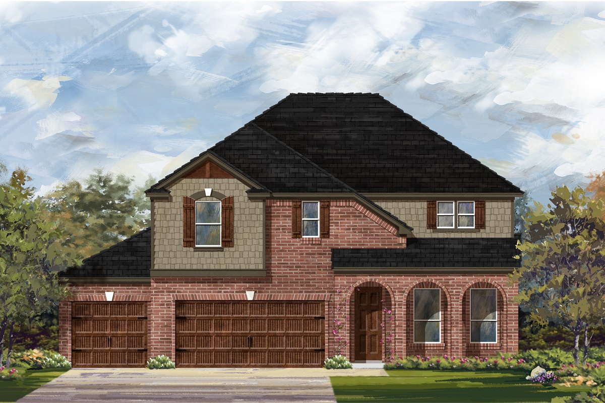 New Homes in Leander, TX - Plan A-3023 B