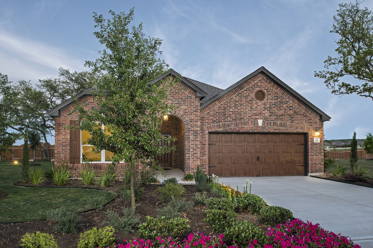New Homes in Leander, TX - Plan A-1792 Modeled