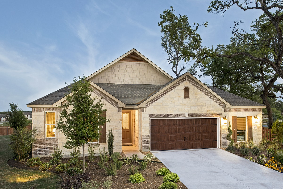 New Homes in Leander, TX - Mason Hills - The Lakes Hallmark Collection Plan A-2382