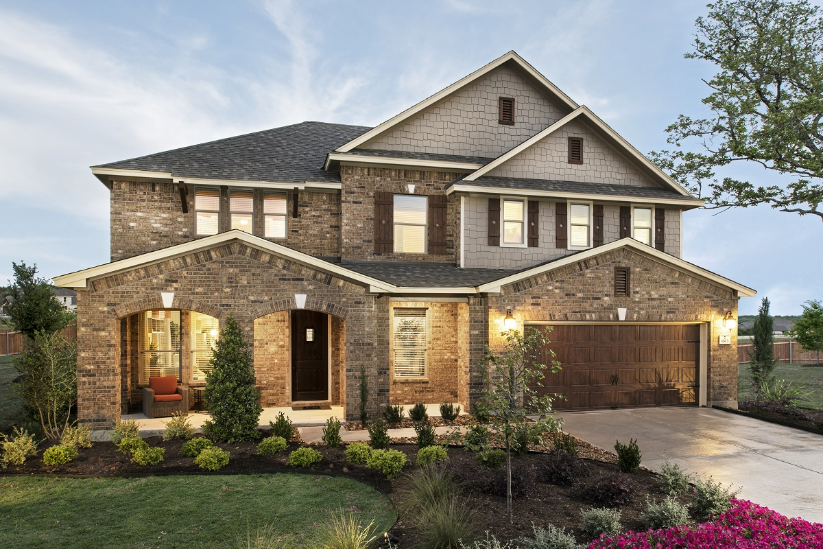 New Homes in Leander, TX - Mason Hills - The Lakes Hallmark Collection Plan L-3471