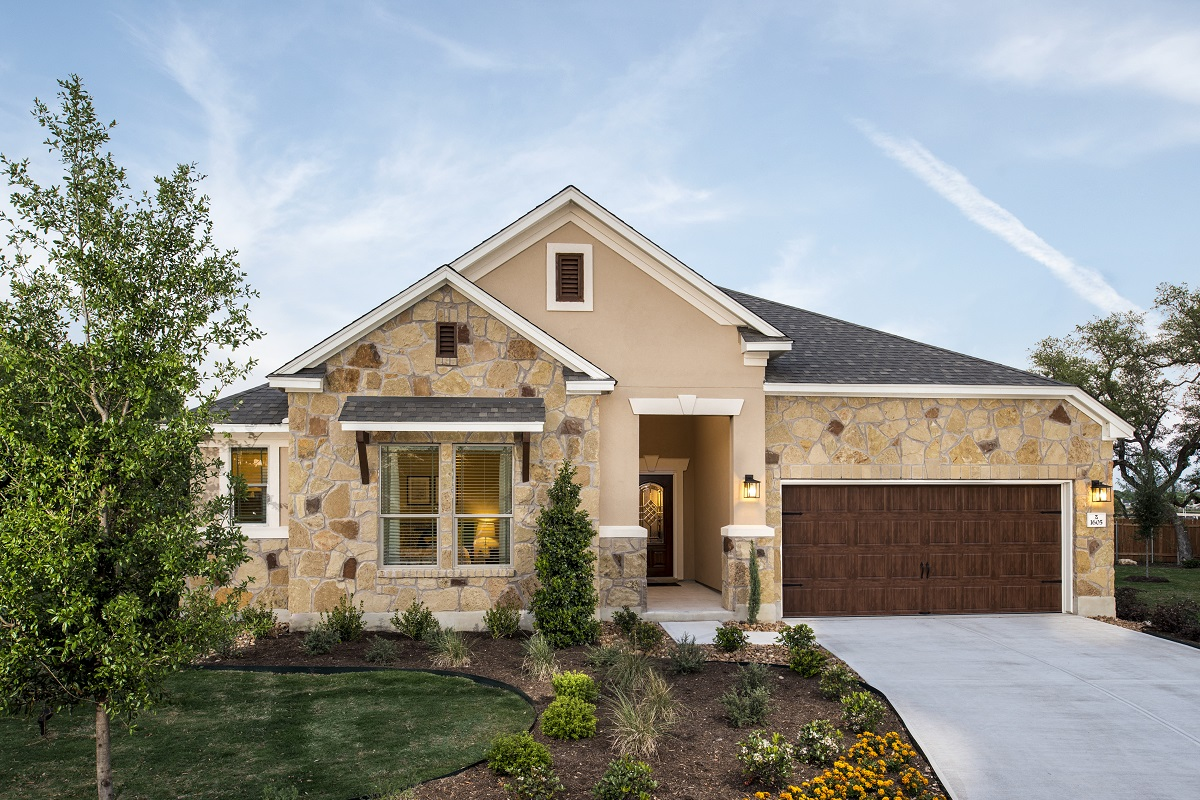New Homes in Leander, TX - Mason Hills - The Lakes Hallmark Collection Plan L-2858