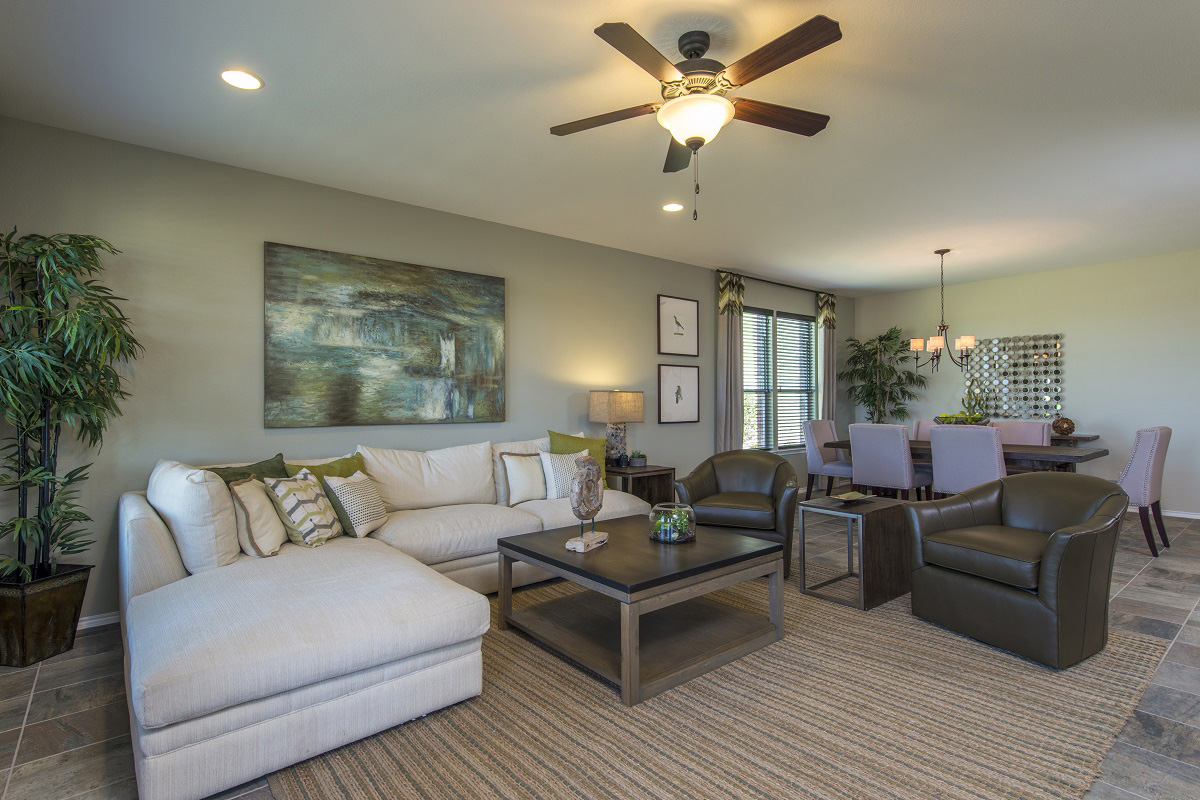 New Homes in Leander, TX - Mason Hills - The Lakes Classic Collection Plan A-1965 Great Room