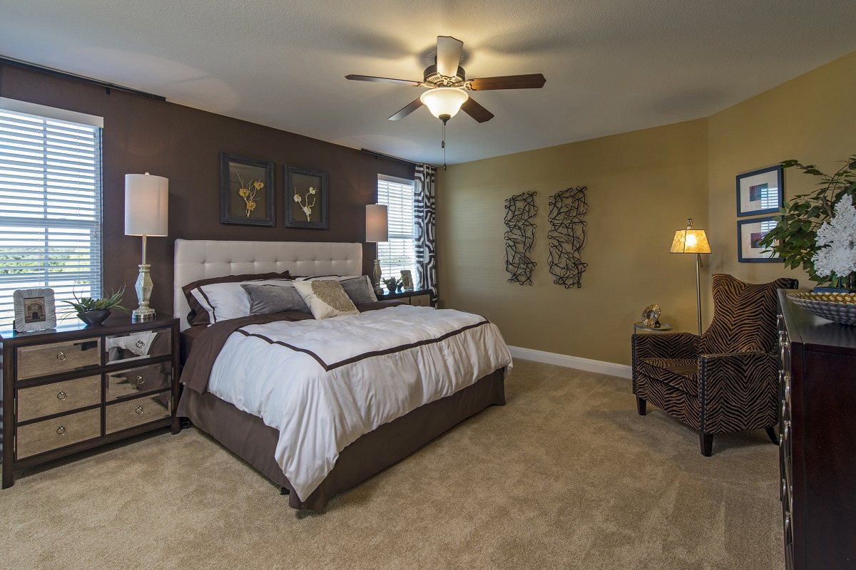 New Homes in Leander, TX - Mason Hills - The Lakes Classic Collection Plan A-2755 Master Bedroom