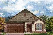 New Homes in Leander, TX - Plan A-1996