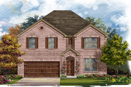 New Homes in Leander, TX - Plan 3125 A