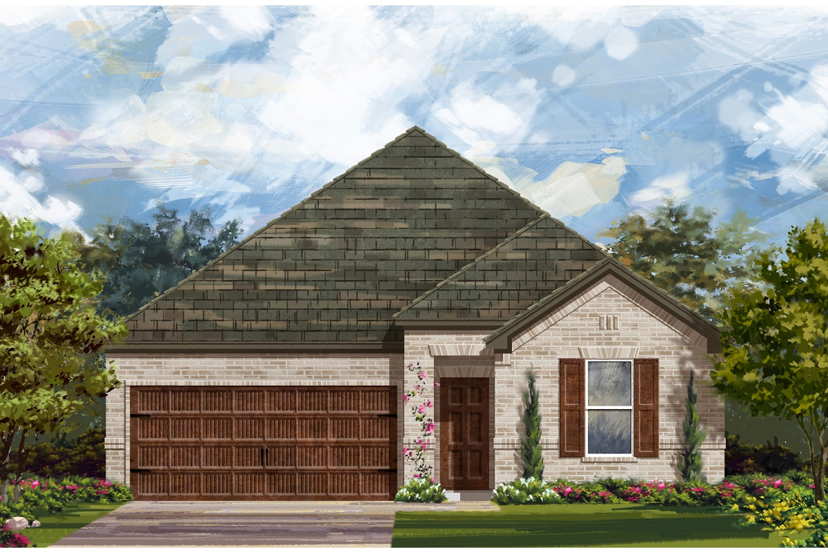 New Homes in Leander, TX - Plan A-1491