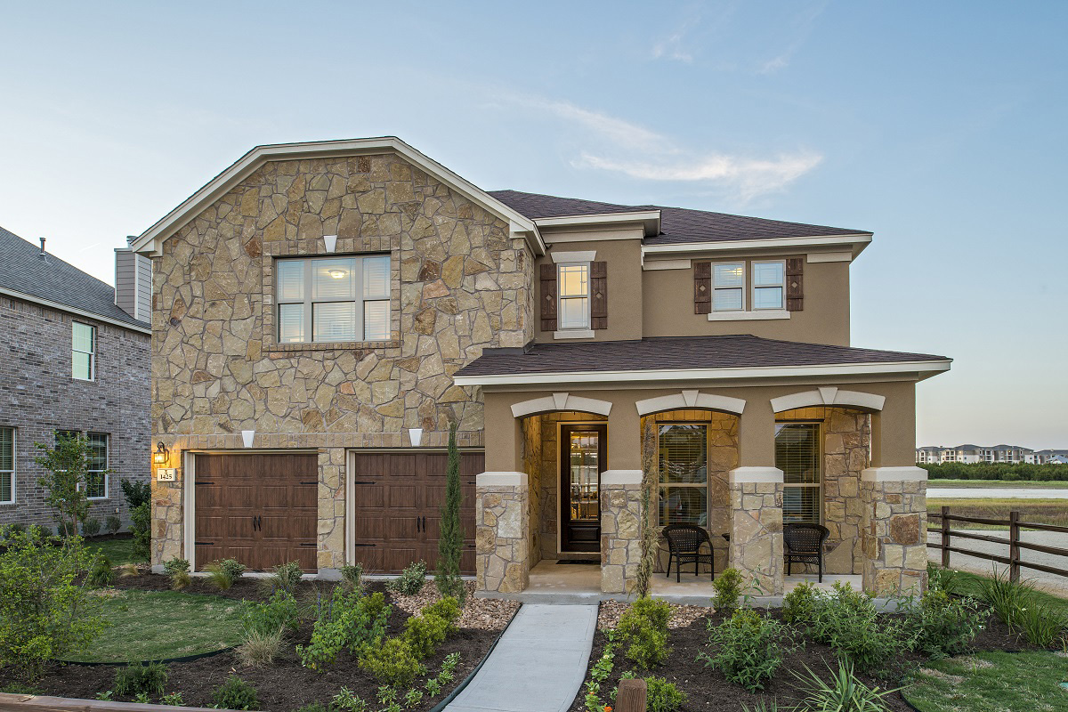 New Homes in Leander, TX - Mason Hills - The Lakes Classic Collection Plan A-3023