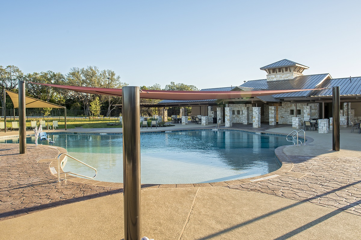 New Homes in Leander, TX - Mason Hills - The Lakes Classic Collection Mason Hills Community Pool