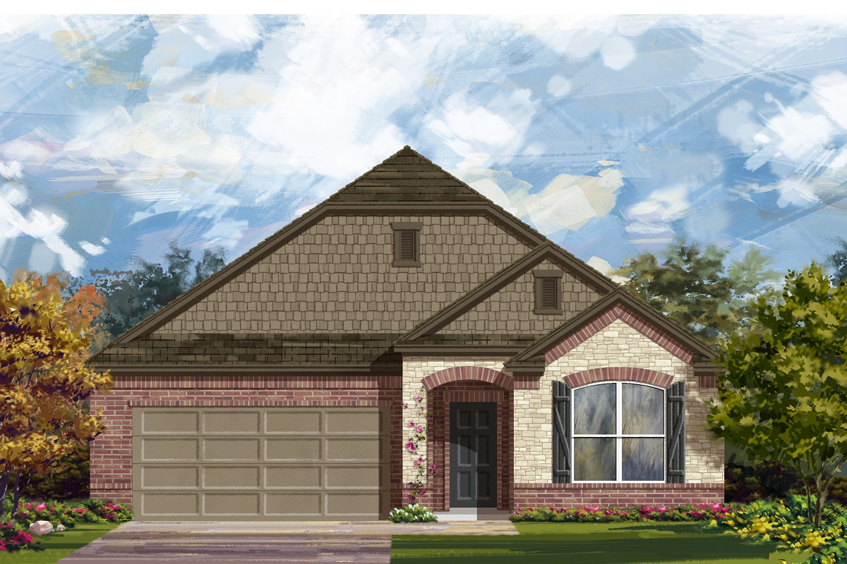New Homes in Lockhart, TX - Plan A-1996