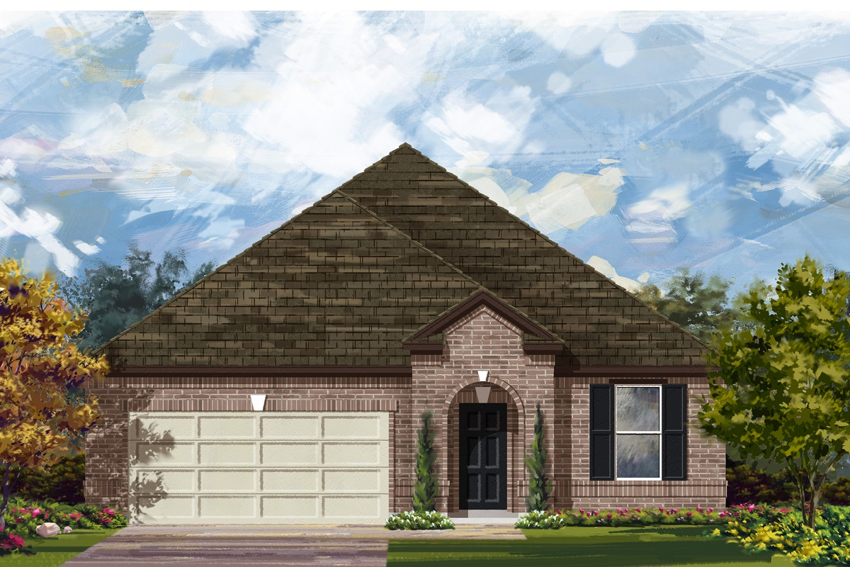 New Homes in Lockhart, TX - Plan A-2089
