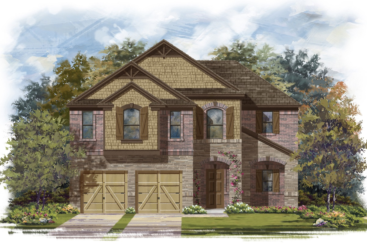 New Homes in Lockhart, TX - Plan A-2183