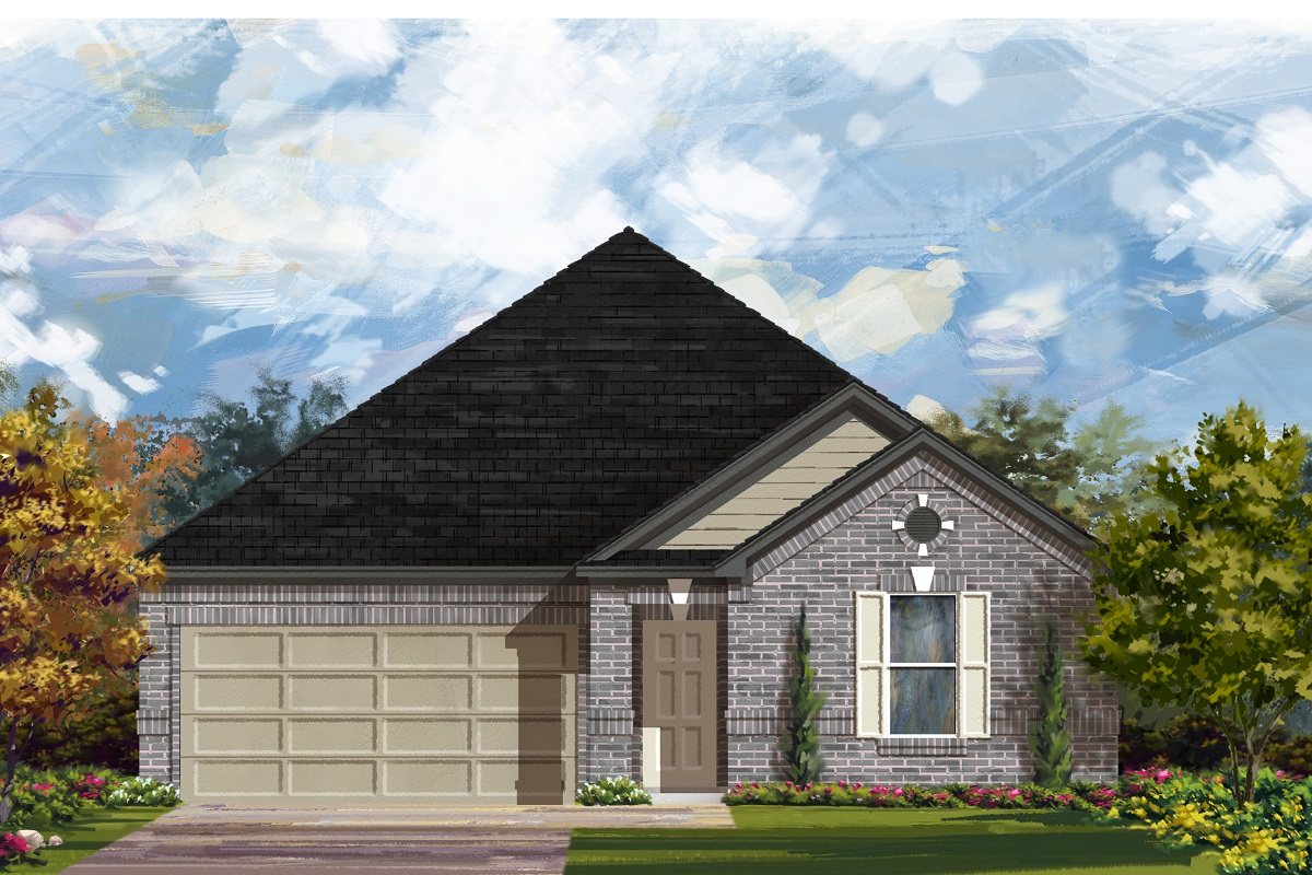 New Homes in Lockhart, TX - Plan A-2382 A