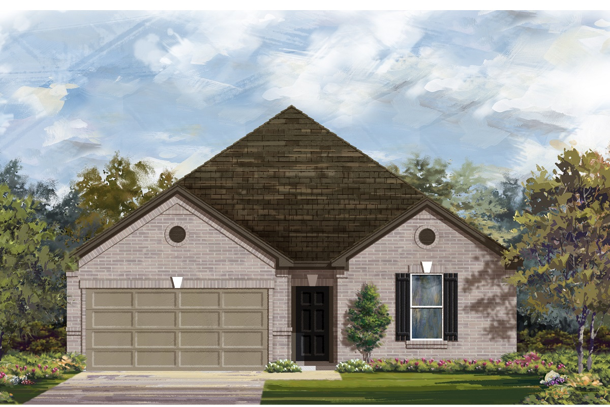 New Homes in Lockhart, TX - Plan A-2382 B