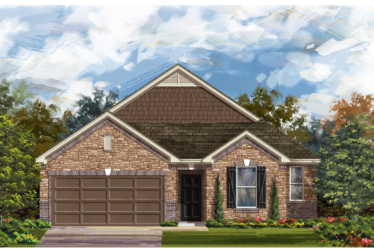 New Homes in Lockhart, TX - Plan A-2382