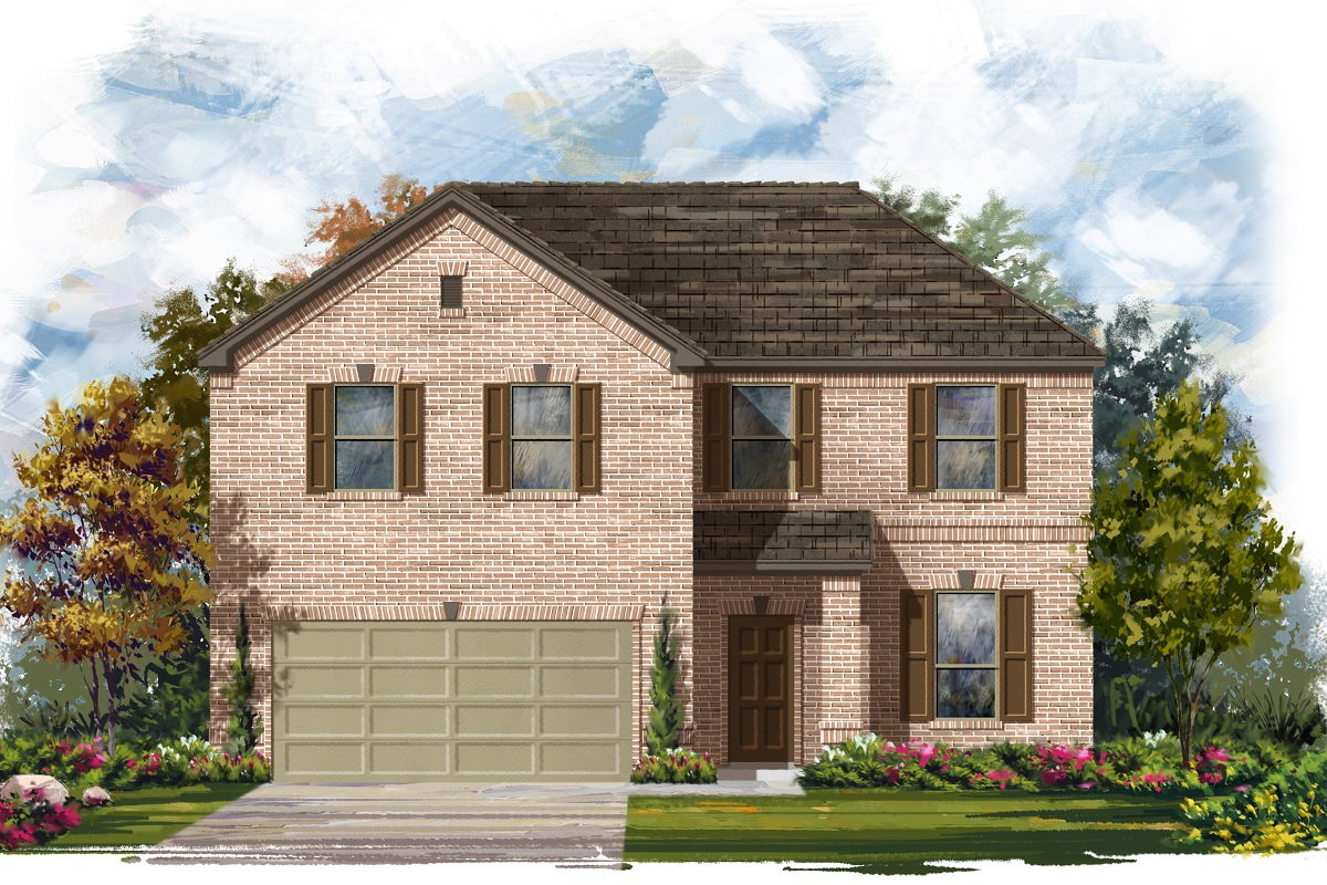 New Homes in Lockhart, TX - Plan A-2469 A