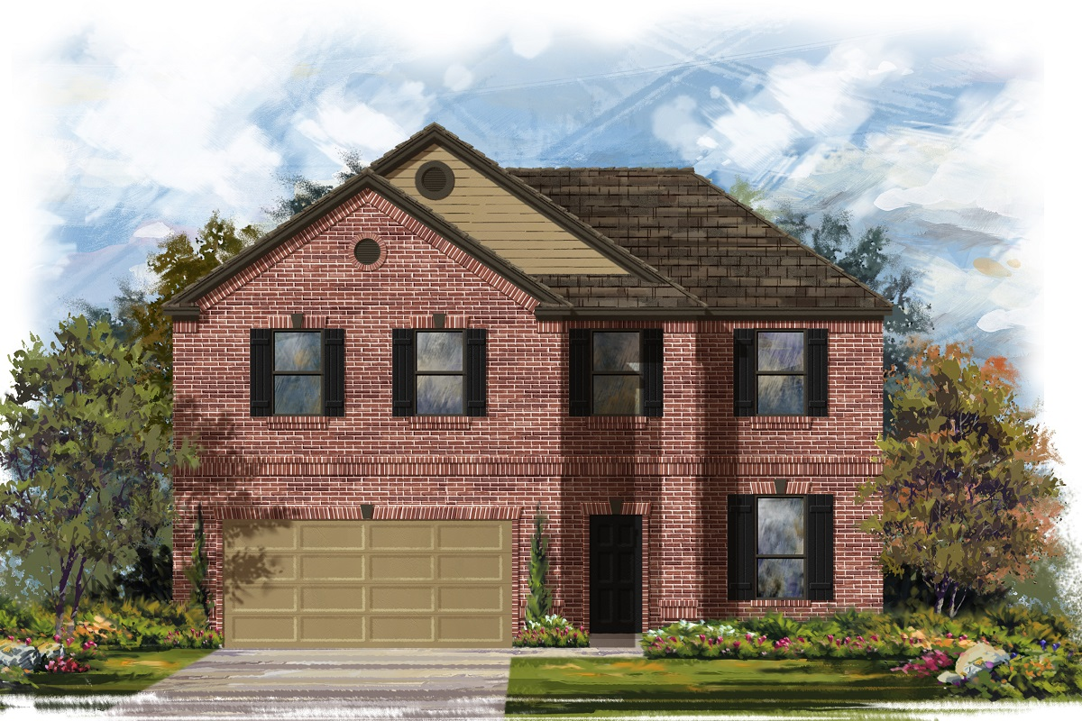 New Homes in Lockhart, TX - Plan A-2469 B