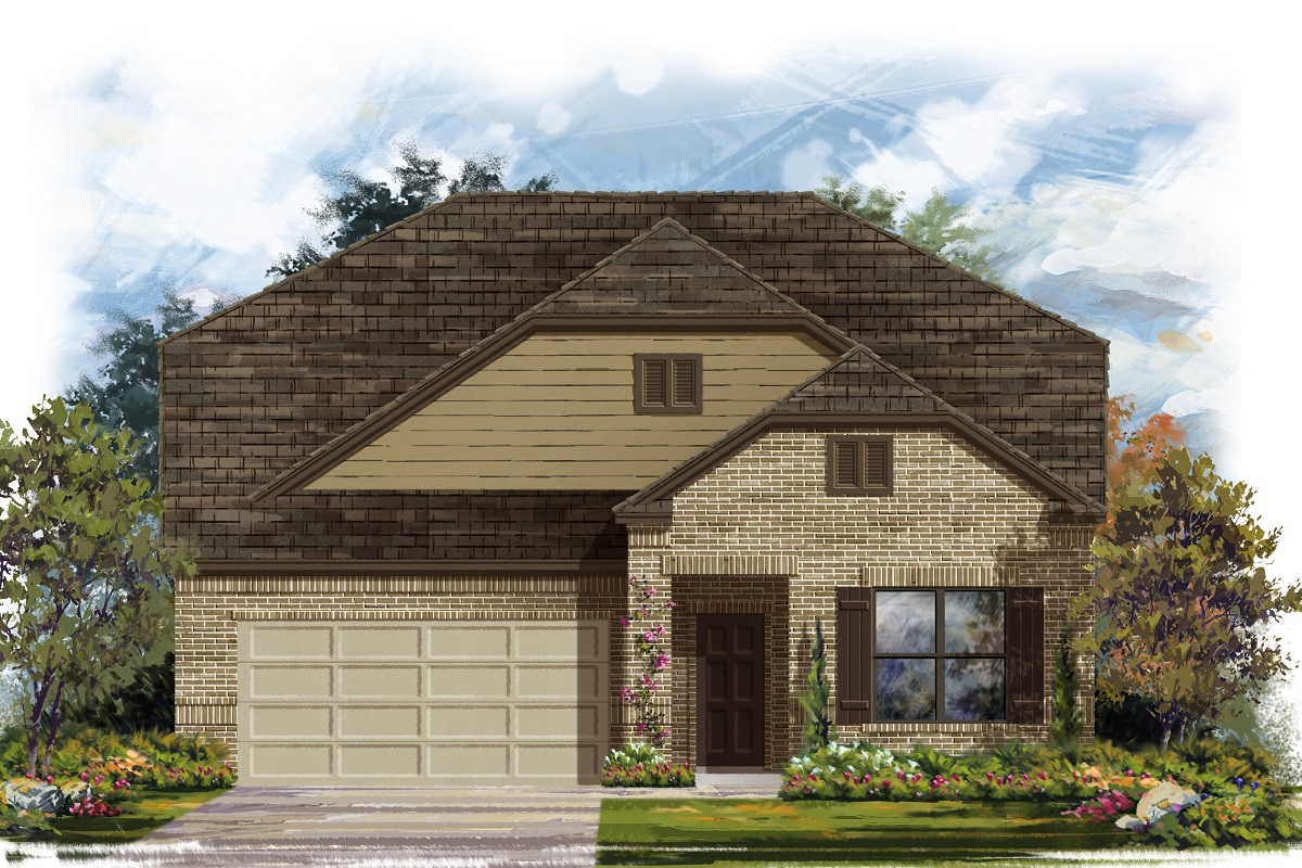 New Homes in Lockhart, TX - Plan A-2655