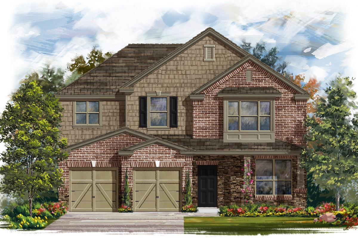 New Homes in Lockhart, TX - Plan A-2797 C