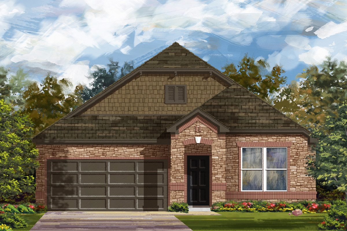 New Homes in Lockhart, TX - Plan 1491