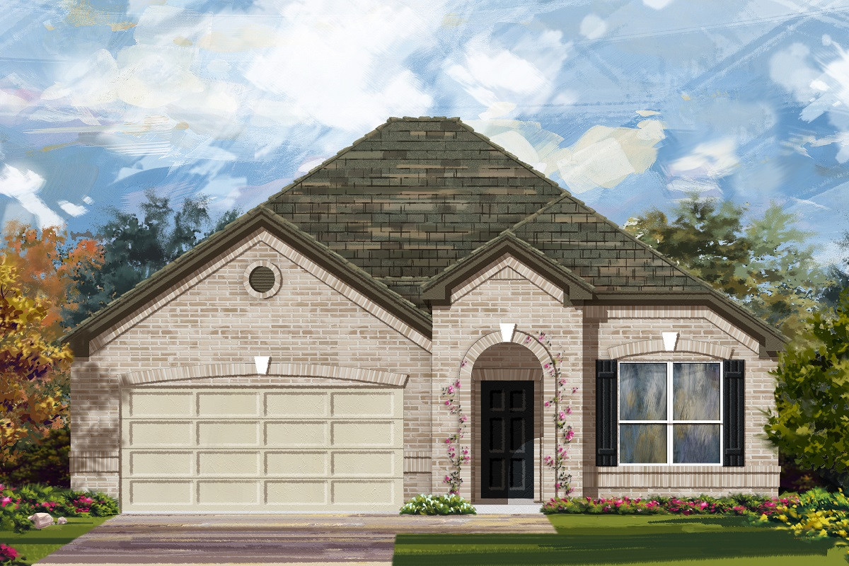 New Homes in Lockhart, TX - Plan 1792