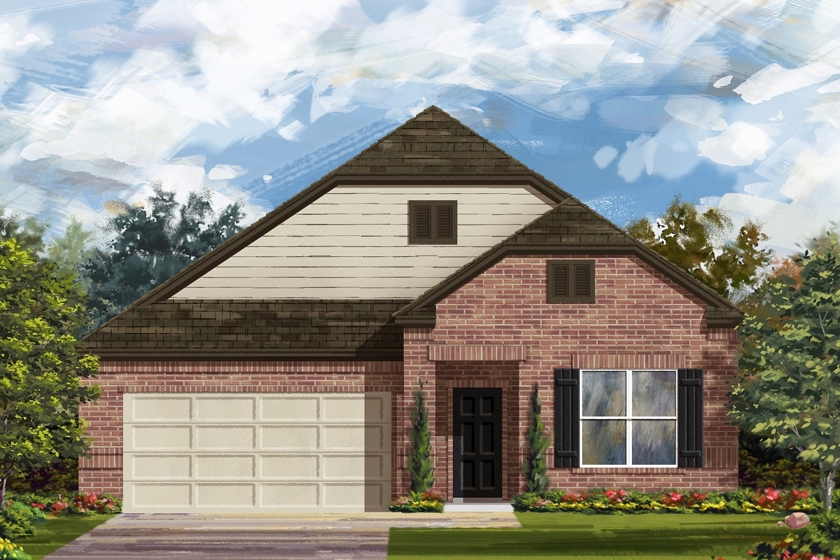 New Homes in Lockhart, TX - Meadows at Clearfork Elevation B