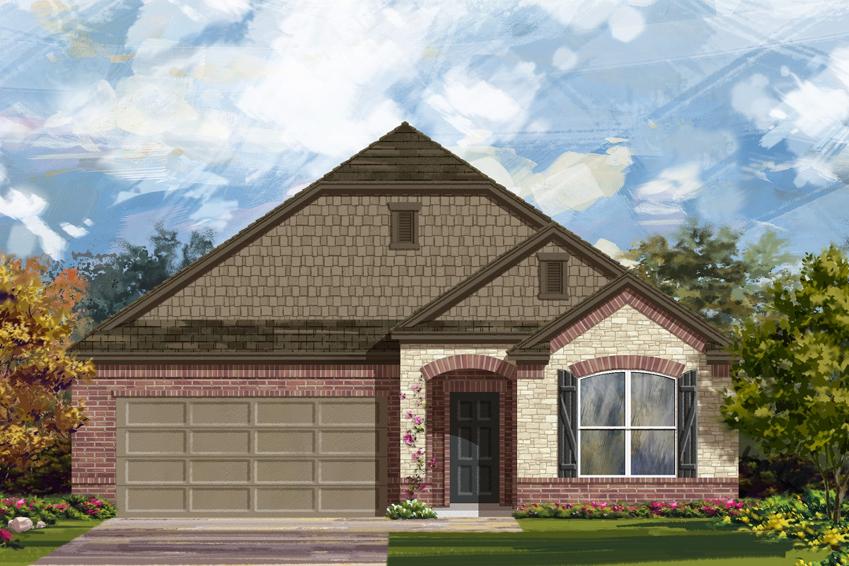 New Homes in Lockhart, TX - Meadows at Clearfork Elevation C