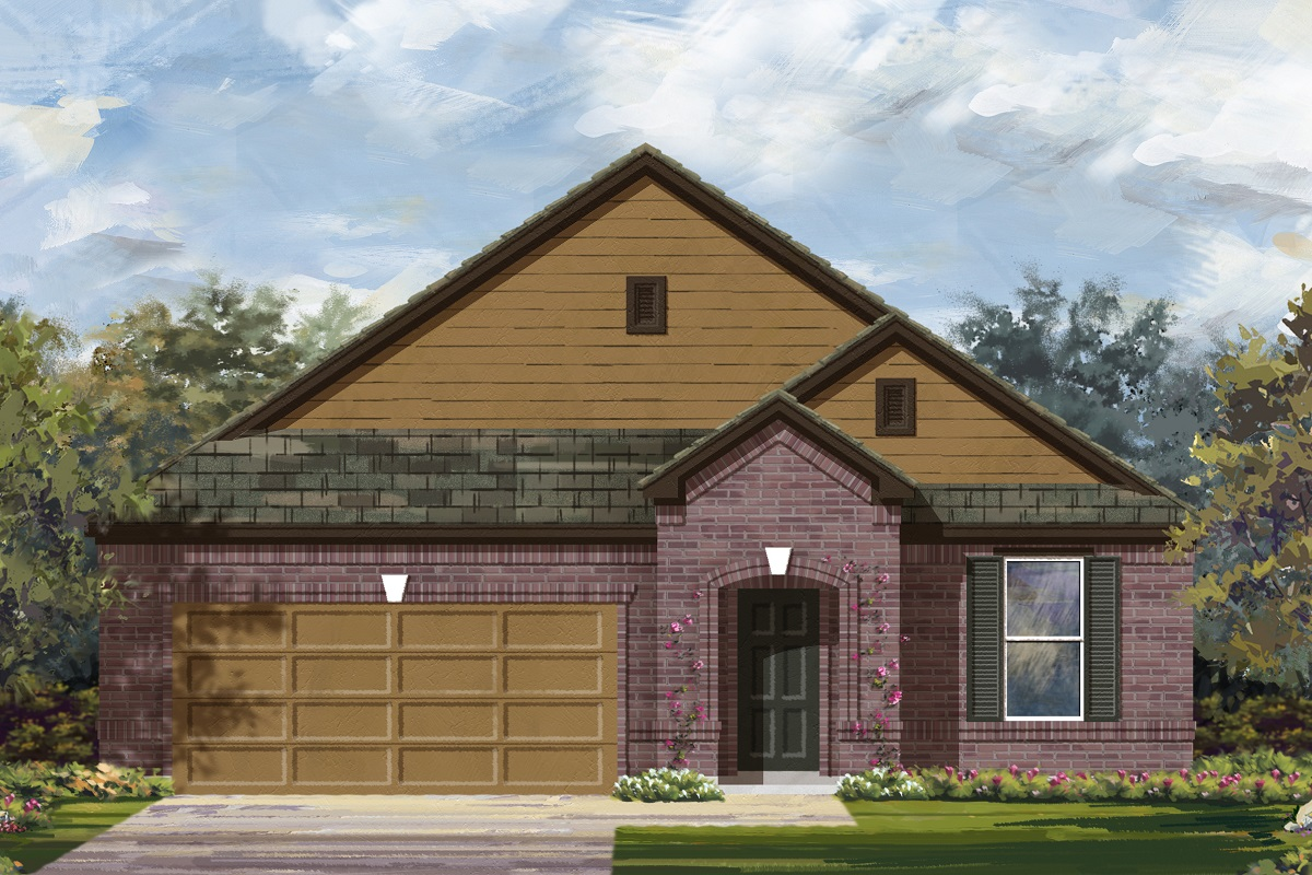 New Homes in Lockhart, TX - Plan 2089