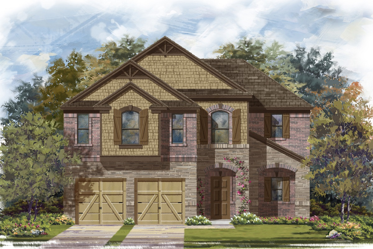 New Homes in Lockhart, TX - Plan 2183