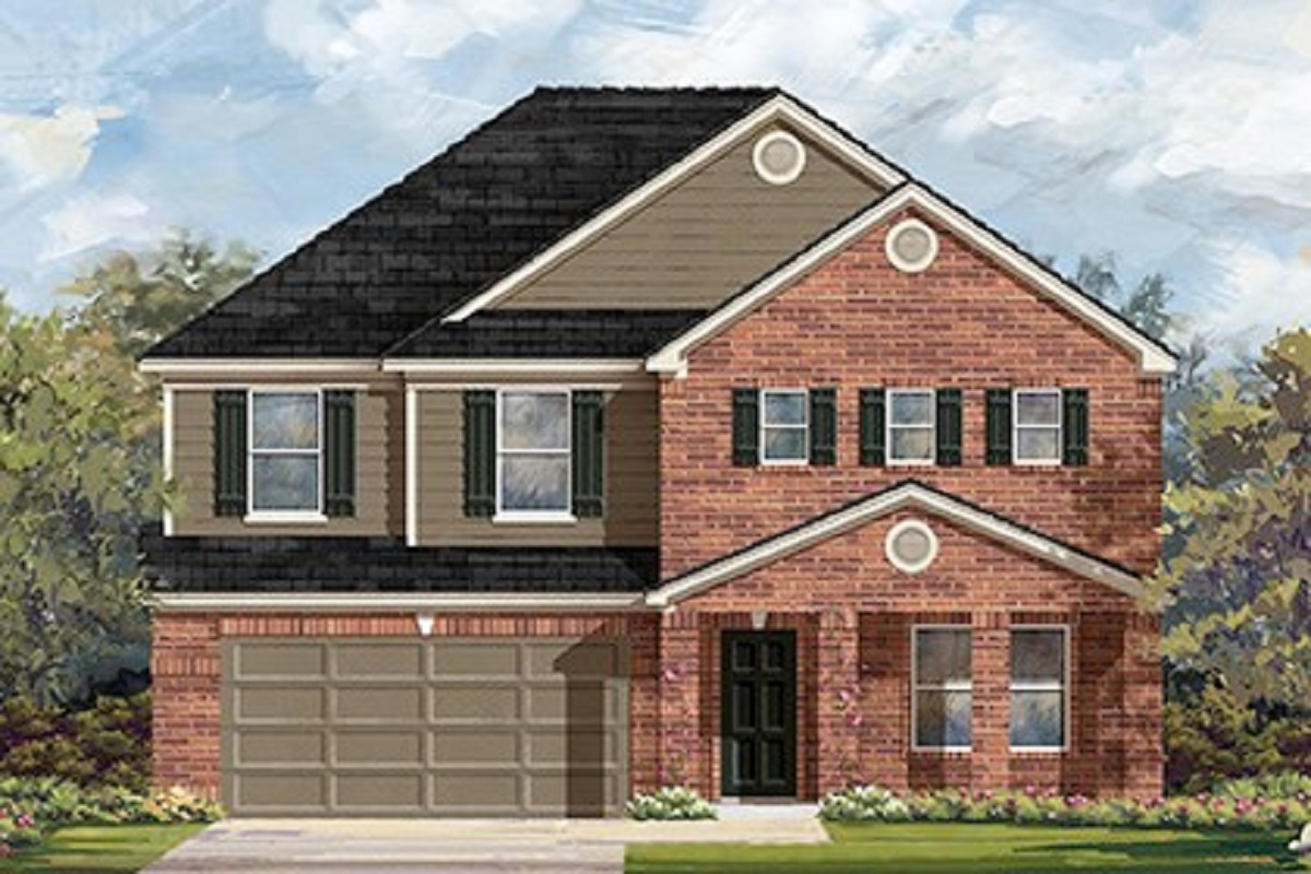 New Homes in Lockhart, TX - Elevation B