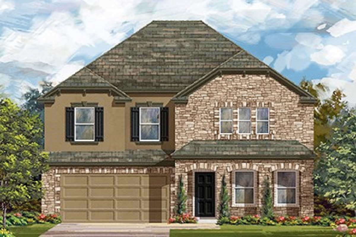 New Homes in Lockhart, TX - Meadows at Clearfork Plan 2881 Elevation D