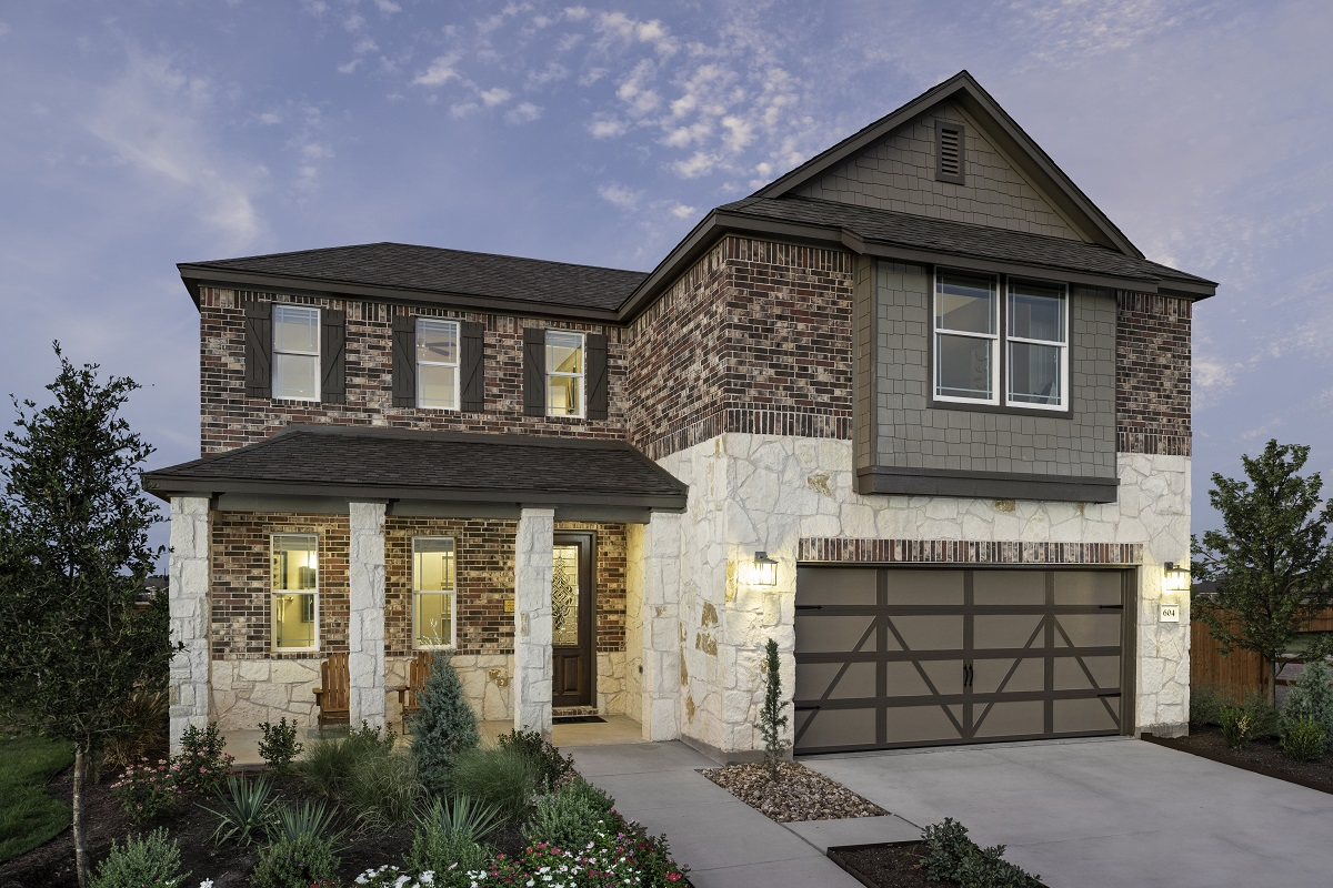 New Homes in Lockhart, TX - Meadows at Clearfork Plan 2502
