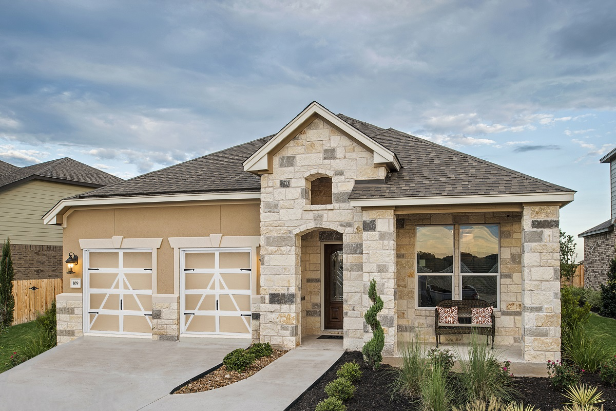 New Homes in Georgetown, TX - Plan 2089