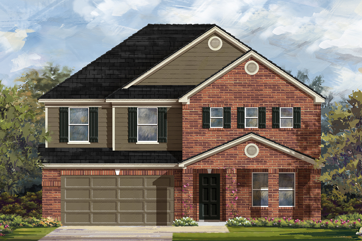 New Homes in Austin, TX - Plan 2881