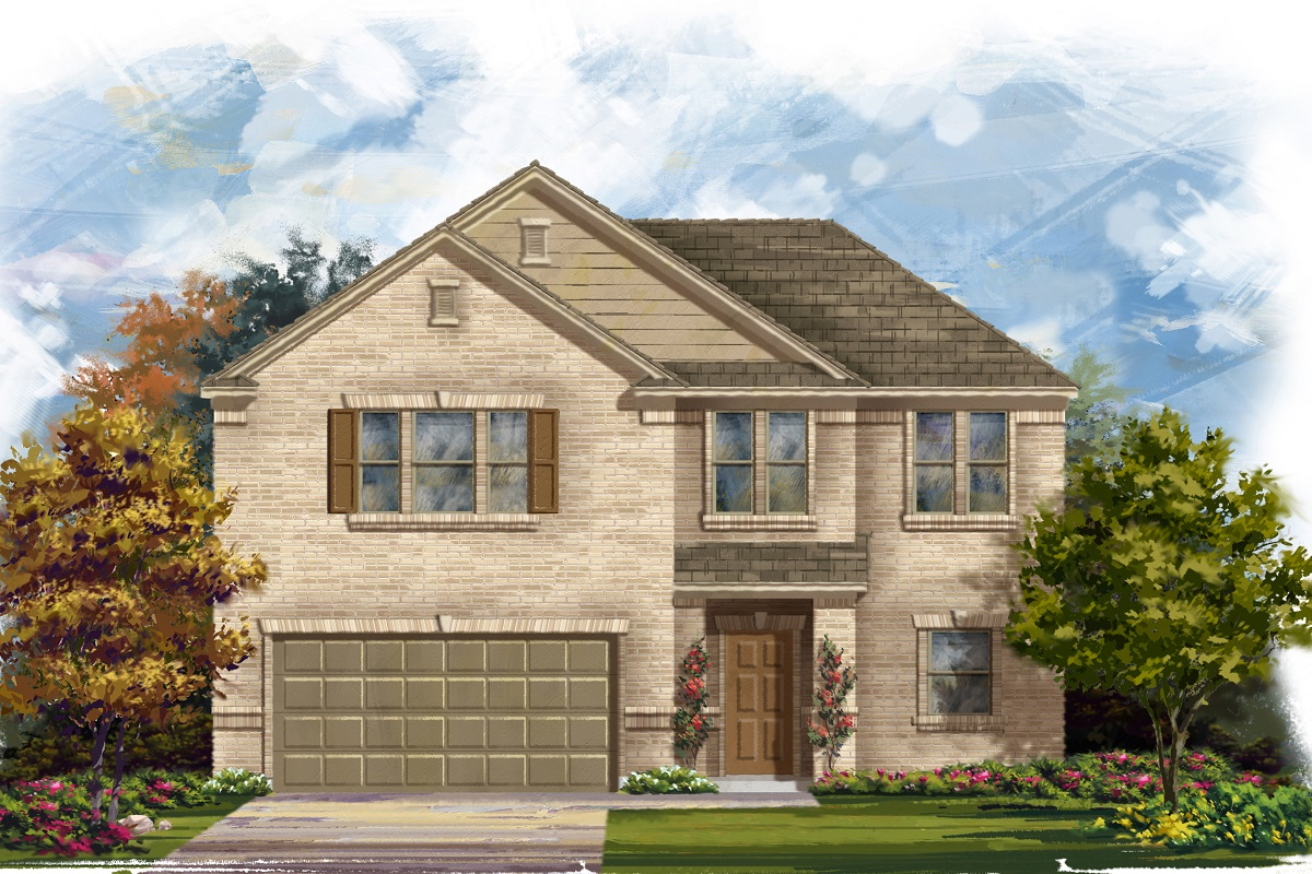 New Homes in Austin, TX - Plan 2183 A