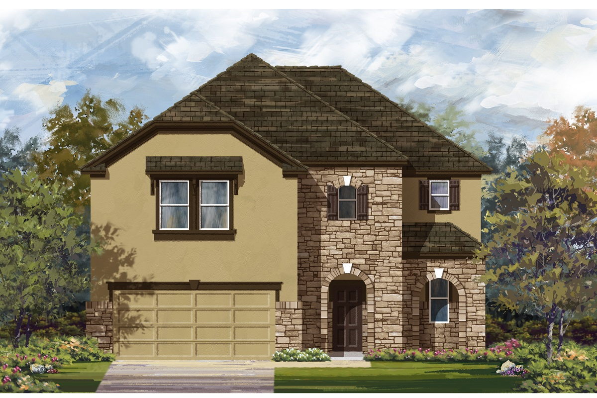 New Homes in Austin, TX - Plan 2183 D