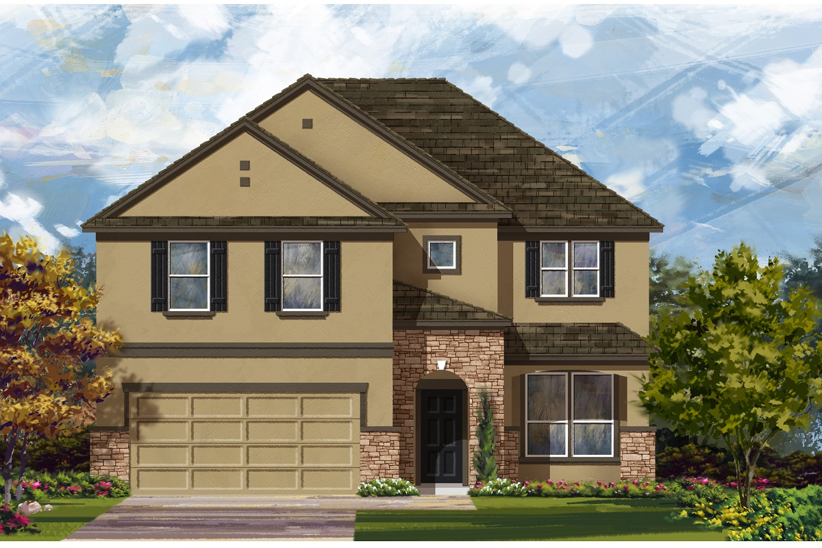 New Homes in Austin, TX - Plan 2469 D